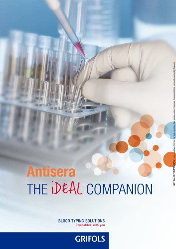 Antisera for conventional techniques brochure