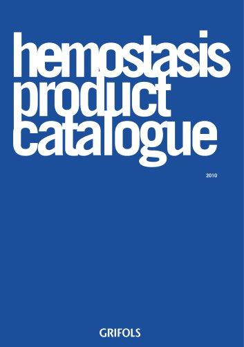 hemostasis product catalogue