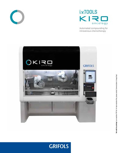 KIRO Oncology Grifols Brochure - Grifols - PDF Catalogs