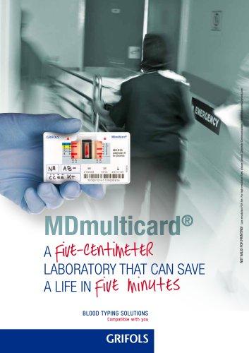 MDmulticard brochure