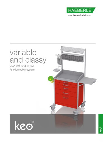 keo - ISO module and function trolleys