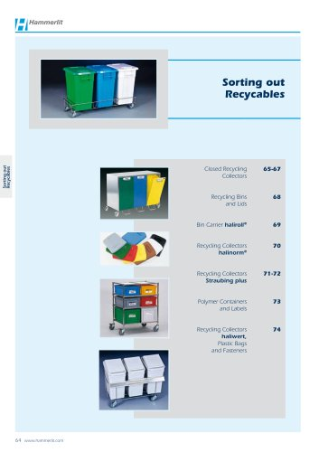 Closed Recycling Collectors