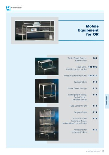Mobile Equipment for OR