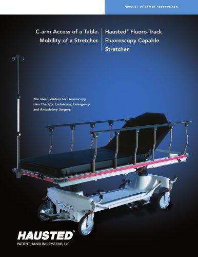 h austed ® Fluoro- t rack Fluoroscopy c apable Stretcher