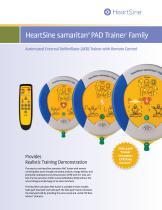 HeartSine samaritan® PAD Trainer1  Family