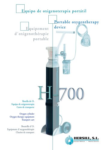 H-700 – Portable Oxygen Therapy Device