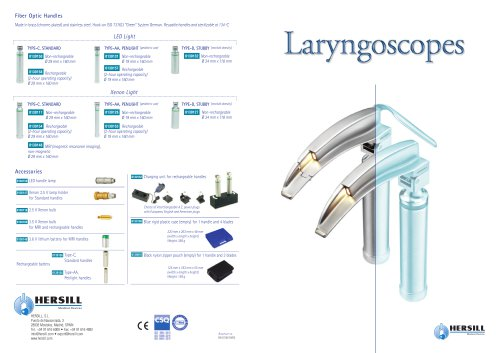 Laryngoscopes