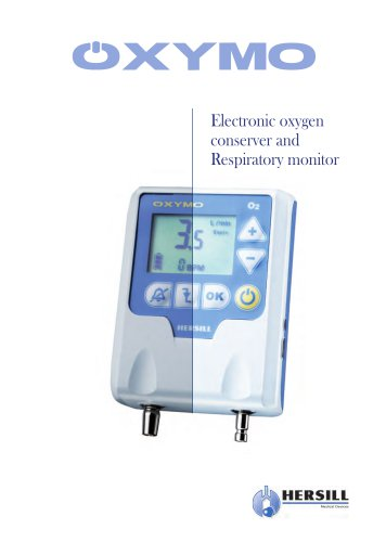 OXYMO – Electronic Oxygen Conserver and Respiratory Monitor