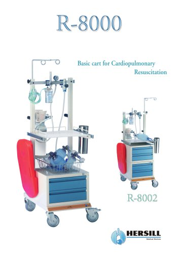 R-8000 – Cardiopulmonary Resuscitation Basic Carts
