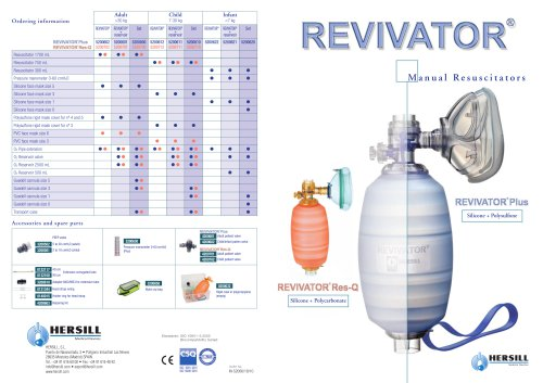 REVIVATOR - Manual Resuscitators