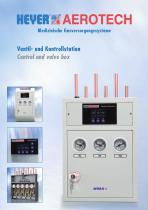 Control and valve box
