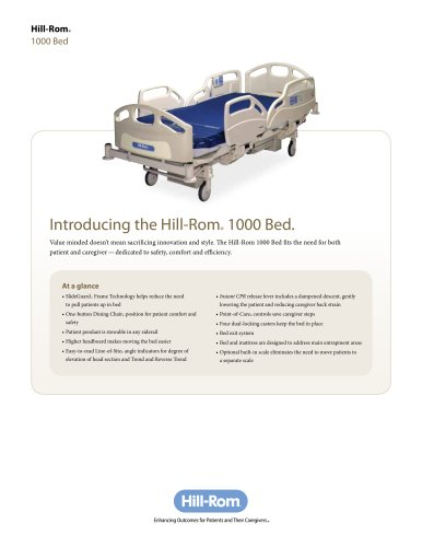 Hill-Rom-1000-Medical-Surgical-Bed-brochure