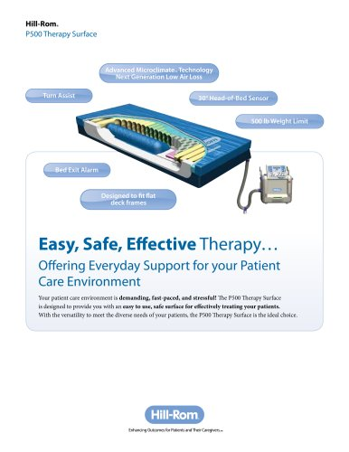 Hill-Rom-P500-Therapy-Surface-Brochure.