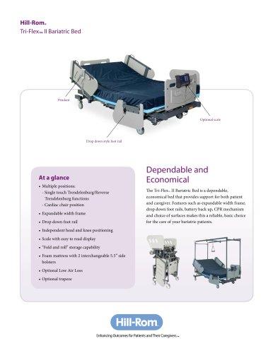 Tri-Flex™ II Bariatric Bed