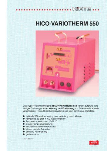 HICO-Variotherm 550