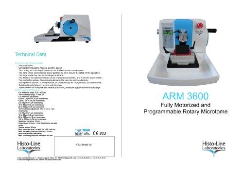 ARM 3600 Microtome rotative full automatic