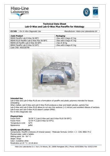 LAB-O-WAX Histological Paraffin