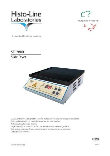 SD 2800 Slide Dryer