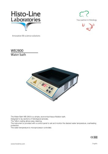 WB 2800 Water Bath
