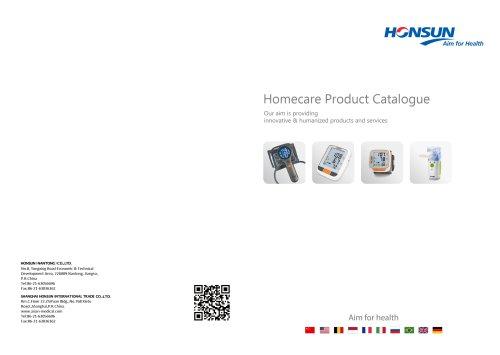 Homecare Product Catalogue