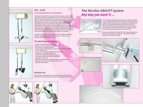 Ceiling Hoist UNILIFT - UDL