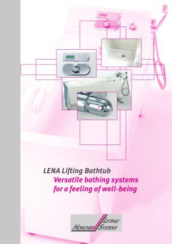 Lifting Bathtub LENA