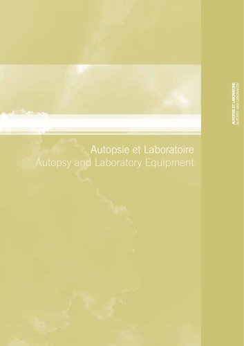 Autopsy and Laboratory Equipment