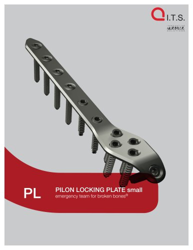 PL - Pilon Locking Plate small