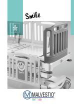 SMILE electric pediatric bed