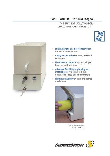 Cash handling system KA500