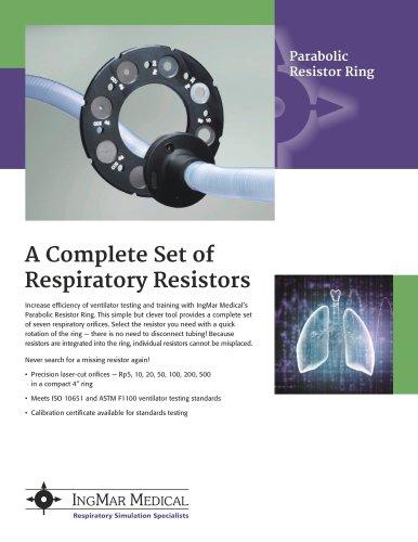 Parabolic Resistor Ring Brochure