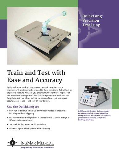 QuickLung Precision Test Lung