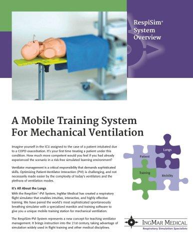 RespiSim System for Mechanical Ventilation Trainiing