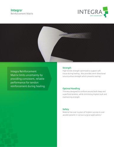 Integra® Reinforcement Matrix