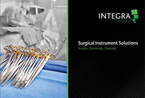 Surgical Instrument Solutions