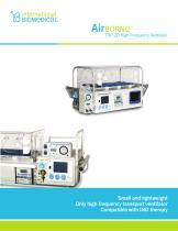 AirBorn TXP-2D High Frequency Ventilator - 1