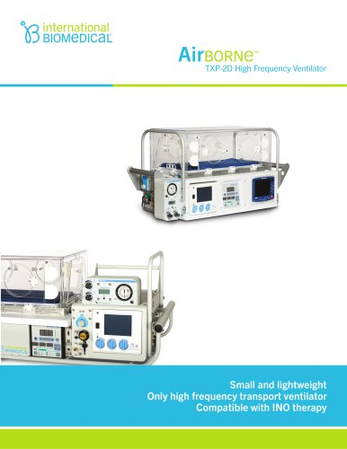 AirBorn TXP-2D High Frequency Ventilator