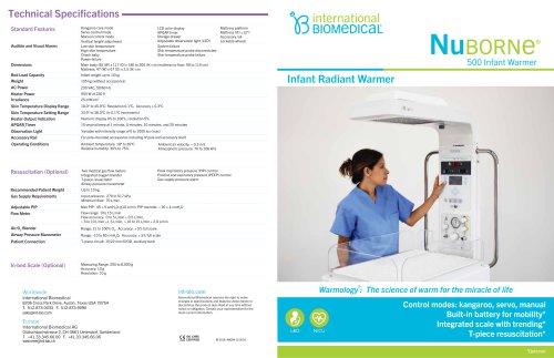 NUBORNE® 500 INFANT WARMER