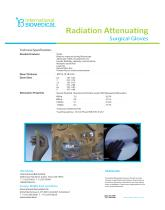Radiation Attenuating Surgical Gloves - 2