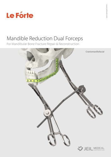 OMF - Mandible Reduction Dual Forceps