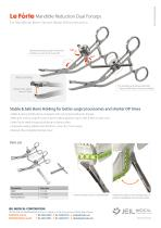 OMF - Mandible Reduction Dual Forceps - 2