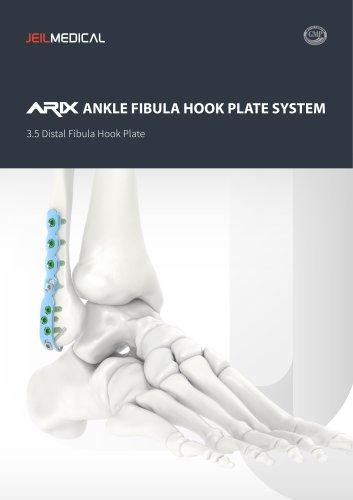 Orthopedic - ARIX Ankle System - Fibula Hook Plate