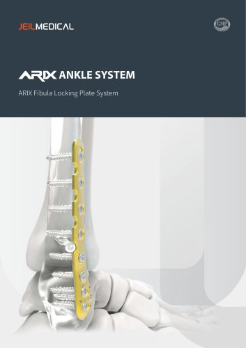 Orthopedic - Arix Ankle System Fibula Locking Plate