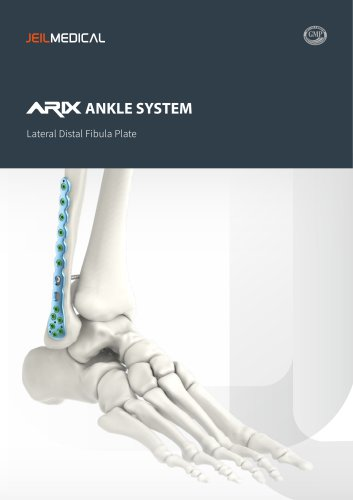 Orthopedic - ARIX Ankle System Lateral Distal Fibula Plate