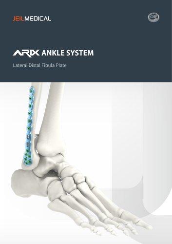Orthopedic - ARIX Ankle System Lateral Distal Fibula Plate