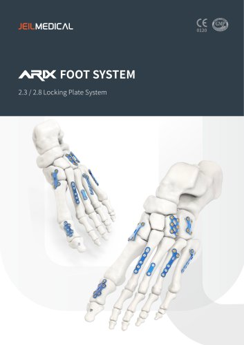 Orthopedic - ARIX Foot System 2.3/2.8