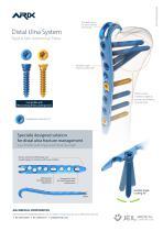 Orthopedic - ARIX Wrist System Distal Ulna - 2