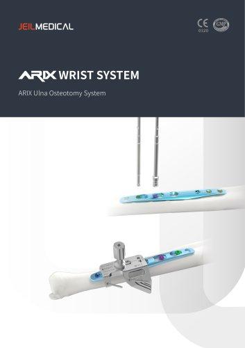 Orthopedic - ARIX Wrist System Ulna Osteotomy System