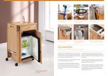 Bedside cabinets Homelike design and flexibility - 10