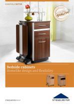 Bedside cabinets Homelike design and flexibility - 1